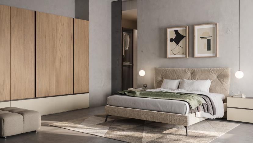Camera da letto matrimoniale - pensarecasa Urbino
